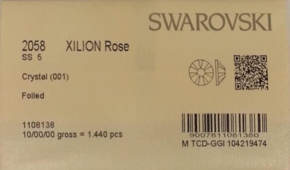 5ss Crystal Clear 1440 Swarovski Flatback Rhinestones Wholesale Full Pack