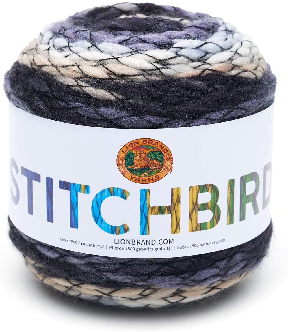 Lion Brand Yarn Stitchbird Yarn, Seagull