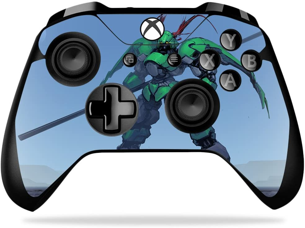 MightySkins Skin Compatible with Microsoft Xbox One X Controller - Tera   Protective, Durable, and Unique Vinyl Decal wrap Cover   Easy to Apply, Remove, and Change Styles   Made in The USA