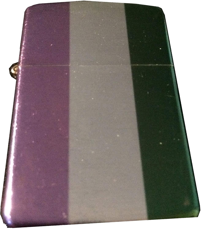 Genderqueer Pride Flag Windproof Lighter - LGBTQ