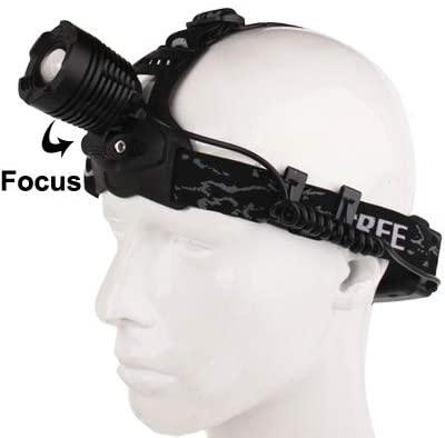 Li CREE Heights Power Rotating Dimmer Zoom Headlamp/Headlight,Adjustable head strap ping