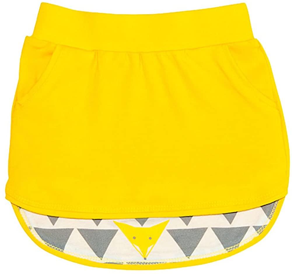 Omamimini Little Girls' Hi-Low Skirt