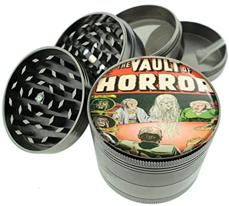 Vault Of Horror Ec Comic Book Seance Titanium 4 PC Magnetic Grinder 2.1