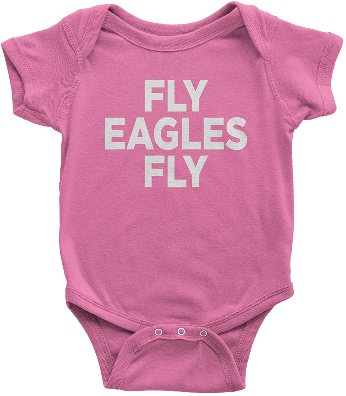 Expression Tees Fly Eagles Fly Infant One-Piece Romper Bodysuit