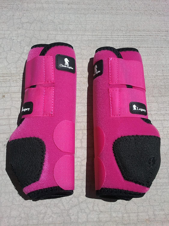 Classic Legacy SMB Sports Medicine Boots Pink Fuchsia Hind Large