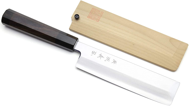 Yoshihiro Inox Semi-stainless Edo Usuba Japanese Vegetable Knife (8.25'' (210mm))