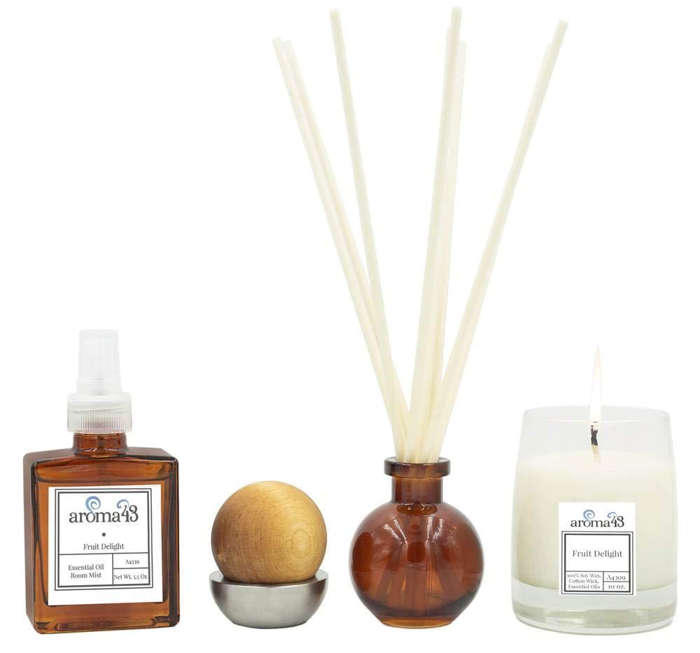 4-Pc Fruit Delight Luxury Fragrance Set