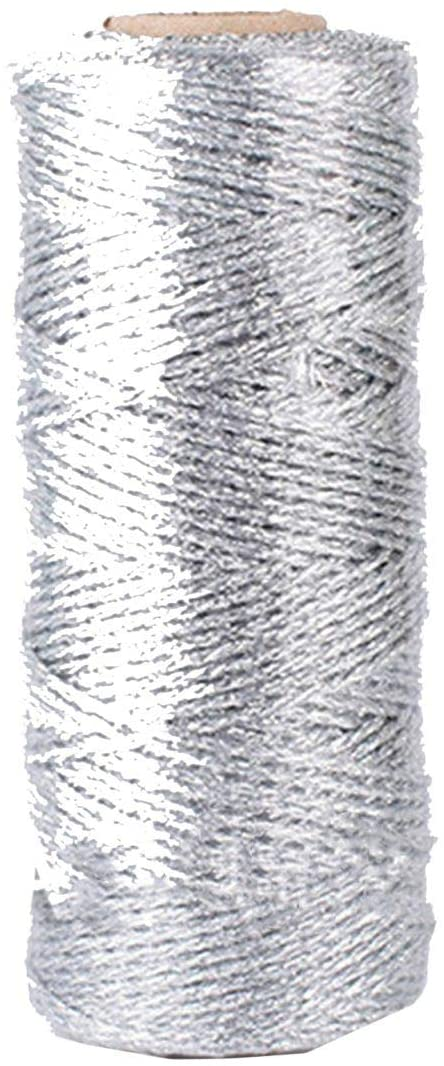 1 Pc 12 Ply 110 Yard Gold Twine Gold Silver Sparkly Glitter String