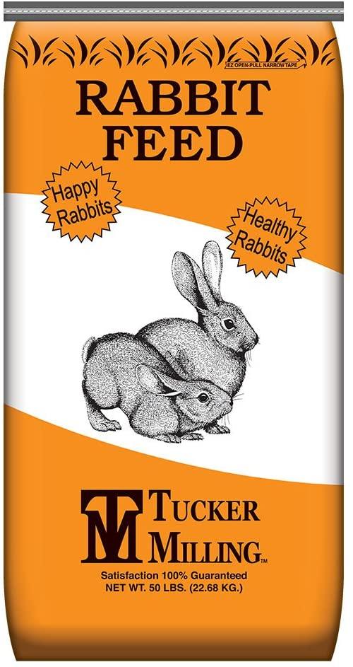 Tucker Milling 16% Protein Mini Pellet Rabbit Feed