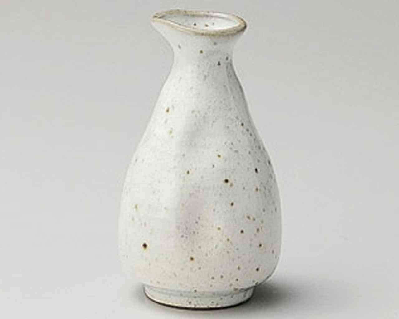 Kobiki Seiji 3.1inch Sake carafe White Ceramic Made in Japan