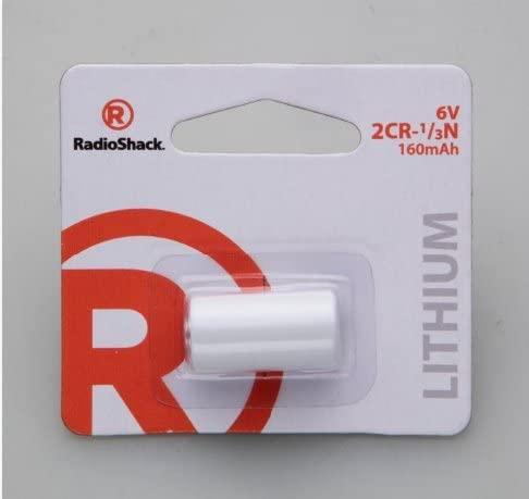RadioShack 2CR-1/3N Lithium Battery