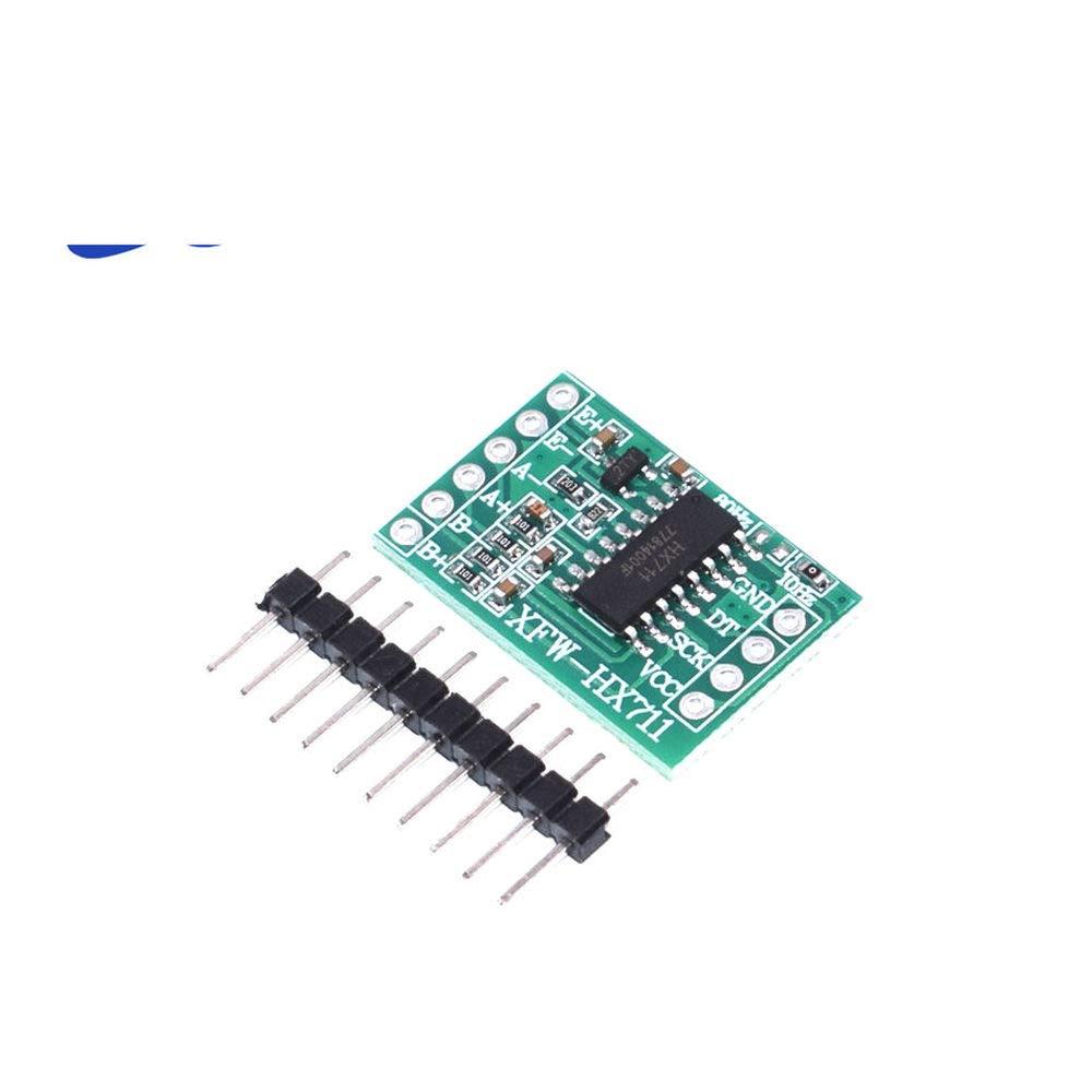 GalaxyElec 10PCS Mini HX711 Weighing Sensor Dual-Channel 24 Bit Precision A/D Module Pressure Sensor Microcontroller Mini I01
