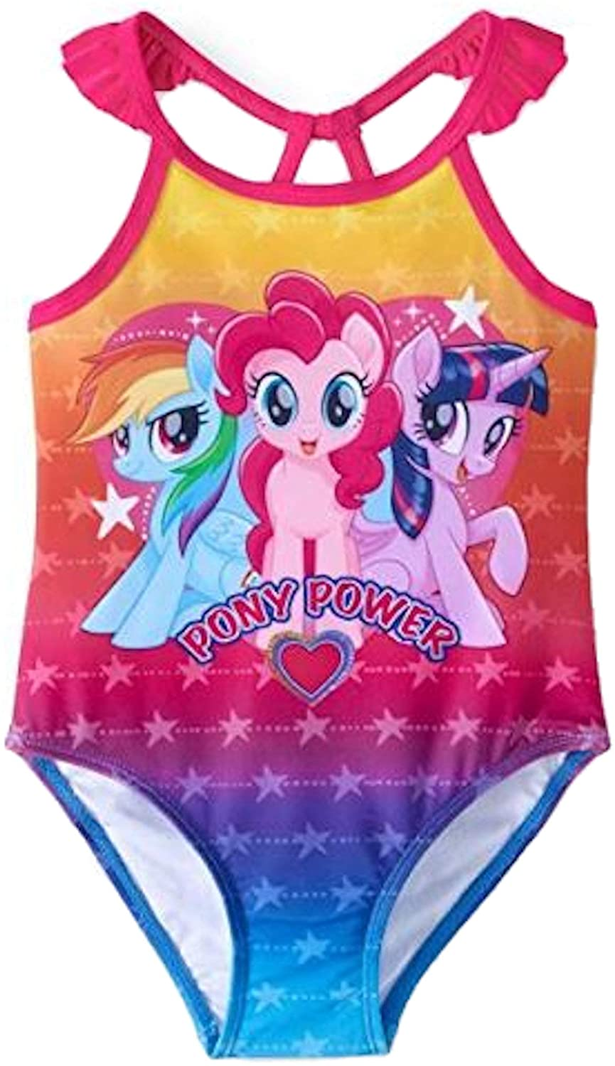 Toddler Girls My Little Pony 1 Piece Swimsuit