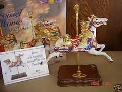 Breyer 50th Anniversary Carousel Horse with Music Box