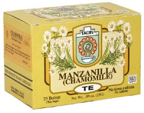 U/S/H/ Tea Manzanilla Size 25ct