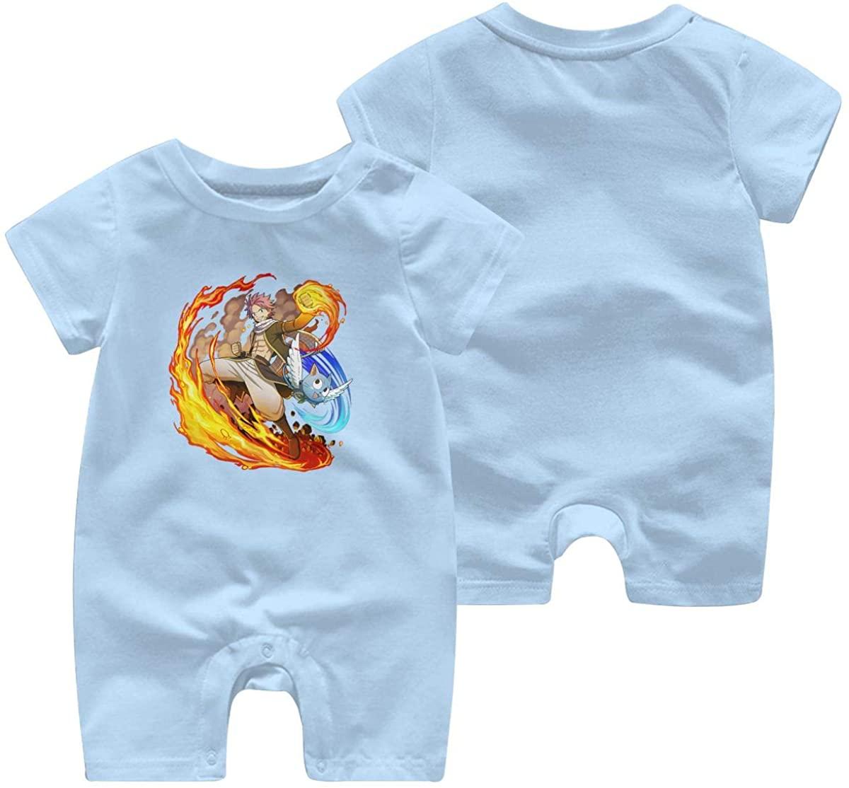 XinWelove Fairy Tail Baby Short Sleeve Jumpsuit