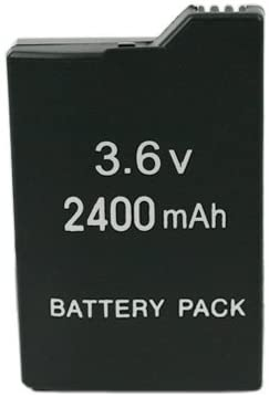 Mosuch 3.6V 2400mAh Sony PSP Slim Rechargeable Battery Pack Black