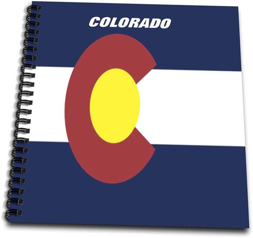 3dRose State Flag Of Colorado - Mini Notepad, 4 by 4-inch (db_45060_3)