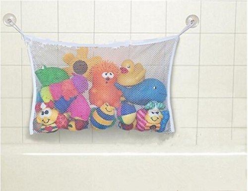Baby Kids Fun Bath Tub Toys Bag Hanging Organizer Storage Bags Holder Size L