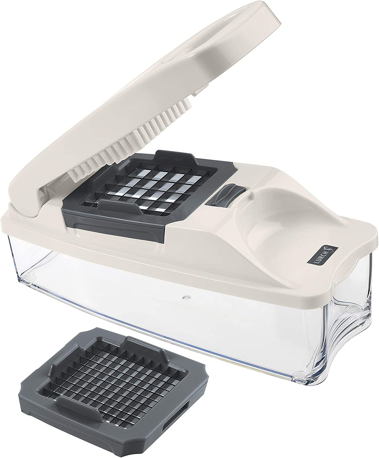 Lurch Germany Compact Slicer & Dicer - Vegetable Chopper (Grey)