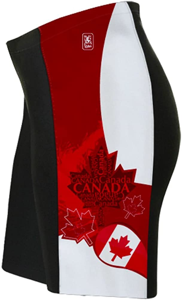 ScudoPro Canada Art Cycling Shorts for Men