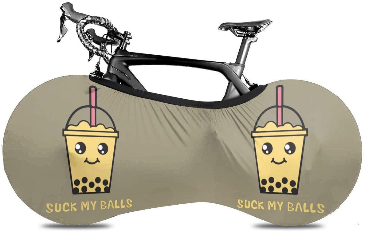 Speed FQ Suck My Balls Bicycle Wheel Cover Portable Bicycle Bike Covers