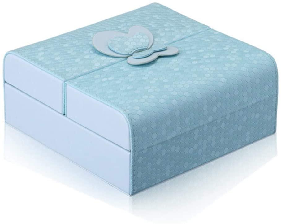 MV Fashion Korean Leather Jewelry Storage Box New Cosmetic Case Jewelry Box