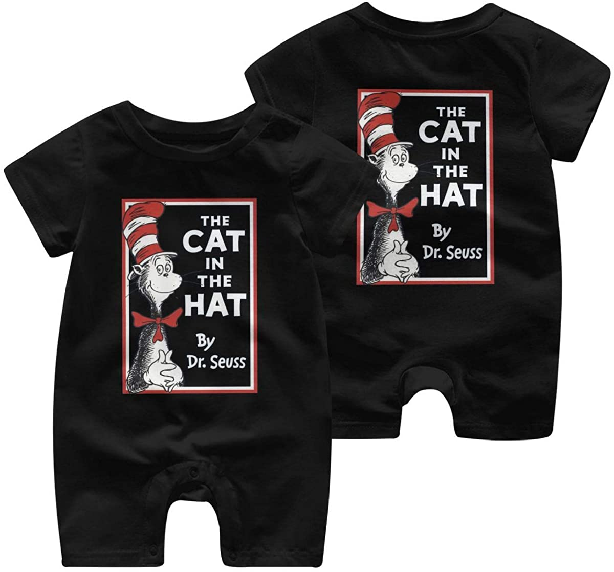Dr. Seuss Baby Short Sleeve Jumpsuit Kid Baby Pajama Sleeper Cotton Romper