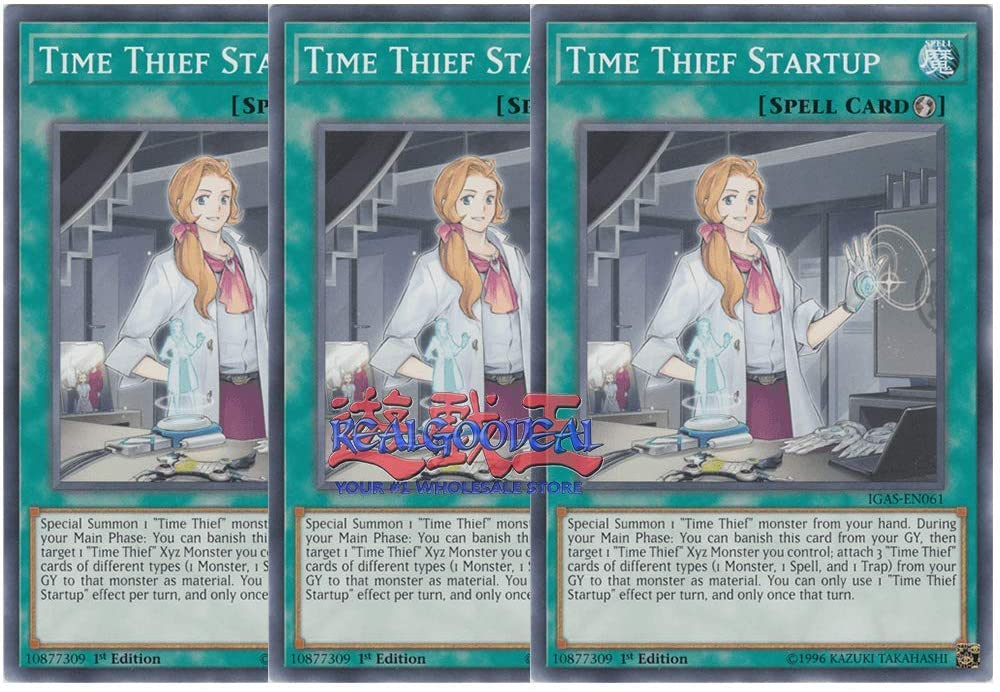 x3 time Thief Startup IGAS-EN061 Common ul