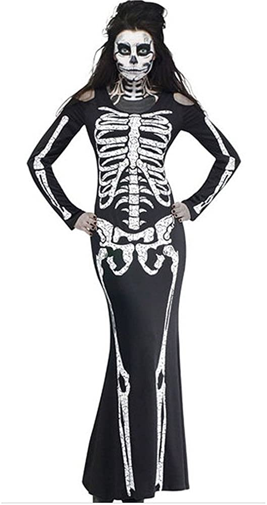 Bestlive Halloween Costumes Ghost Festival Skeleton