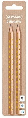 Pure Glam HB Triangular Pencil FSC Pack of 2