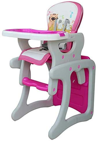 MASODHDFX Baby Dining Chair Baby Feeding Highchair Separable Chair Desk Multifunctional Baby High Feeding Dinner Chair Table,C
