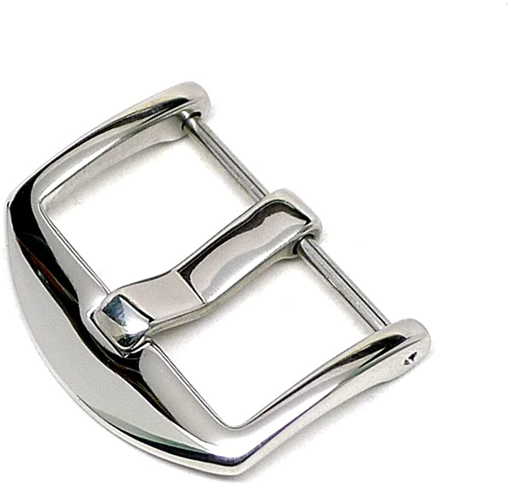 DaLuca ARD Screw in Watch Strap Buckle - Polished : 20mm