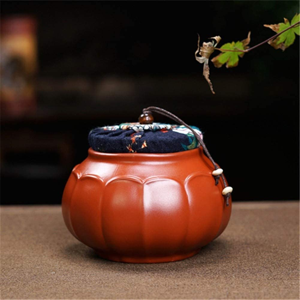 SHENLIJUAN Ore purple clay tea caddy handmade teapot teapot Big Red Box (Color : Purple mud)