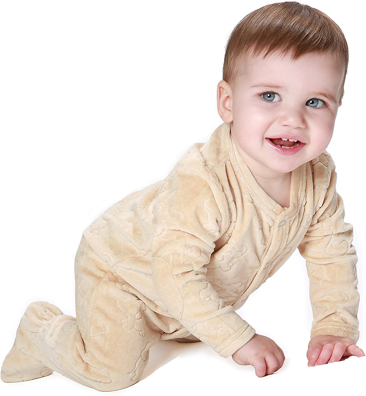 All-Natural Cotton Elephant Coverall