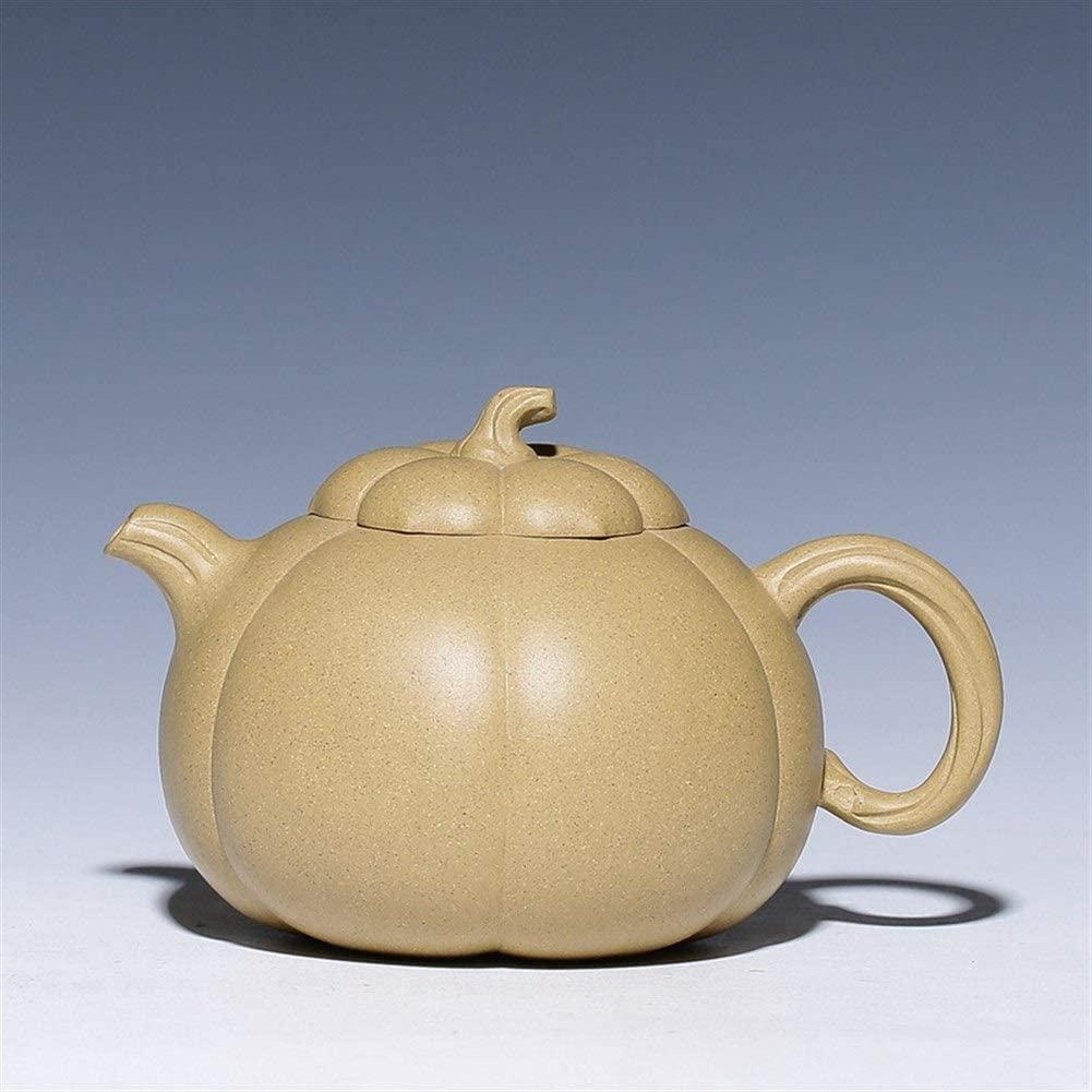 MADONG Teapot hand-cargo pumpkin flower pot Qinghui Hills section of mud play-to-mouth pot (Color : Duan mud)