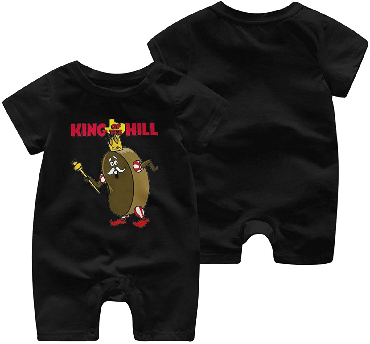 King Ding Dong Baby Romper Baby Short Sleeve Jumpsuit