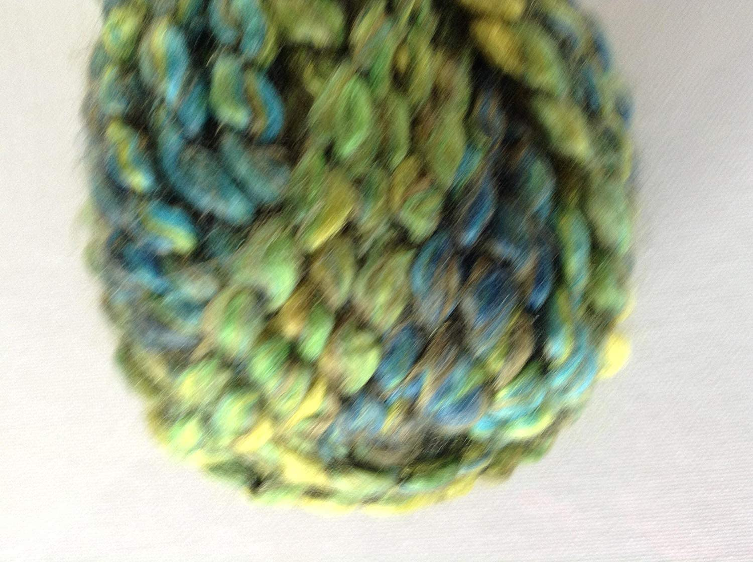 Loops & Threads Country Loom Colorburst Yarn, 1 Ball, Green Meadow, 3.5 ounces