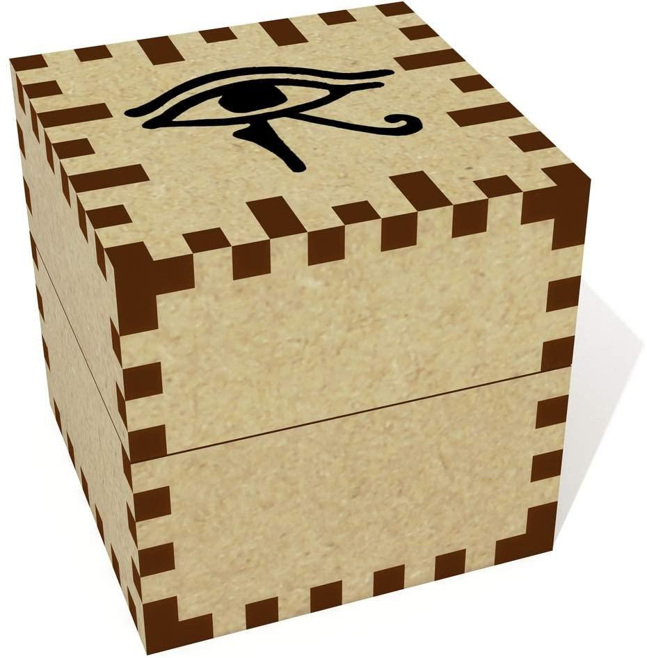 Azeeda Small 'Eye of Horus' Ring Holder / Jewellery Box (JB00023776)