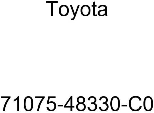 TOYOTA Genuine 71075-48330-C0 Seat Cushion Cover