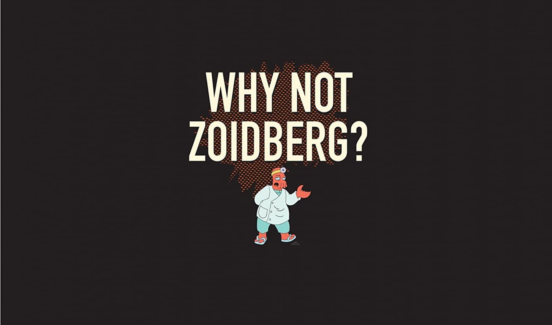 HiddenSupplies.com Futurama Zoidberg Why Not Playmat + Free RFG Sleeves Standard 75 Count
