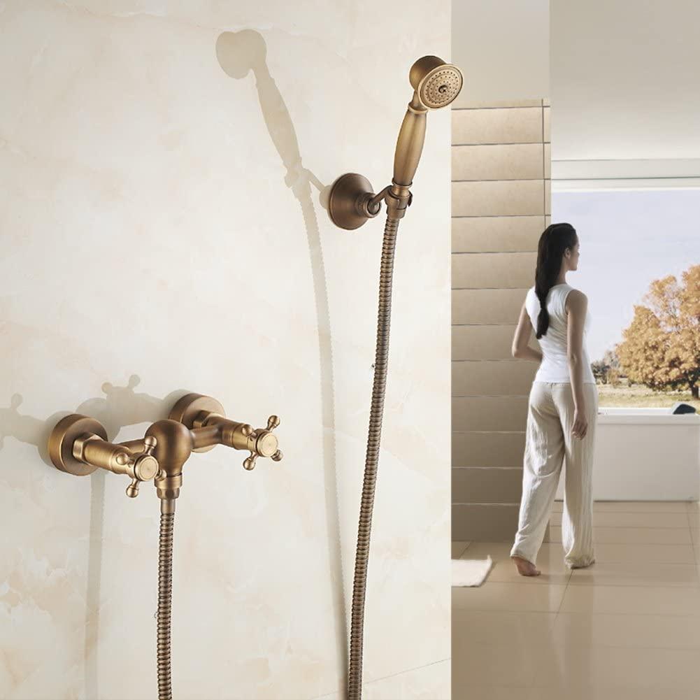 Continental Antique Faucet/Simple Retro Copper Shower Faucet shower8063-A