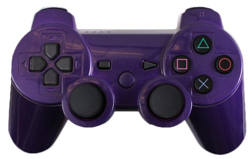 Custom PS3 Controller - Polished Purple Dualshock 3