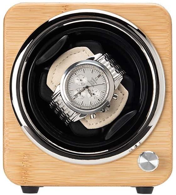 Xihouxian Watch Shaker, can accommodate 1 Watch, Ultra-Quiet Anti-Magnetic Motor, Mechanical Watch Automatic Shaker, Watch Storage Box Winder, Size 160 141 125mm Watch Winder