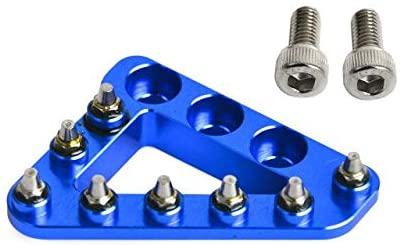 Frames & Fittings Huscus Rear Brake Pedal Tip Large Foot Step Plate Kit for KTM 690 950 990 1090 1190 1290 SMC SMR Duke Supermotor Enduro Adventure - (Color: Blue)