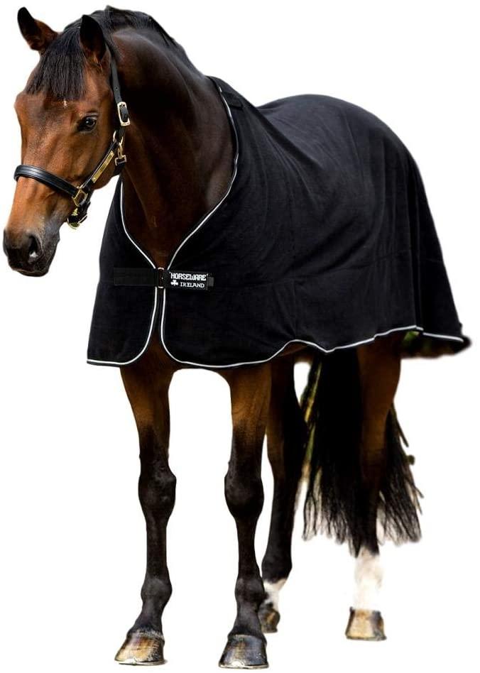 Horseware, Fleece Liner, Black/Black & White,