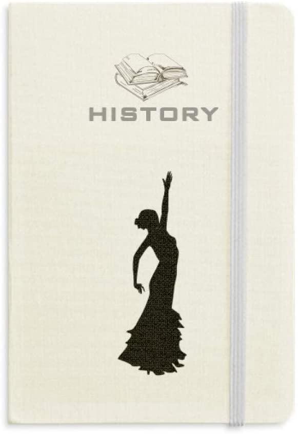 Folk Dance Performance Dancer History Notebook Classic Journal Diary A5