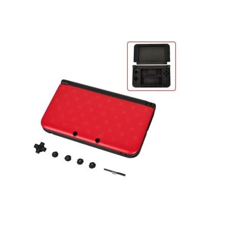 Nintendo - Coque Nintendo 3DS XL Rouge Mario Complete - 3700936106087