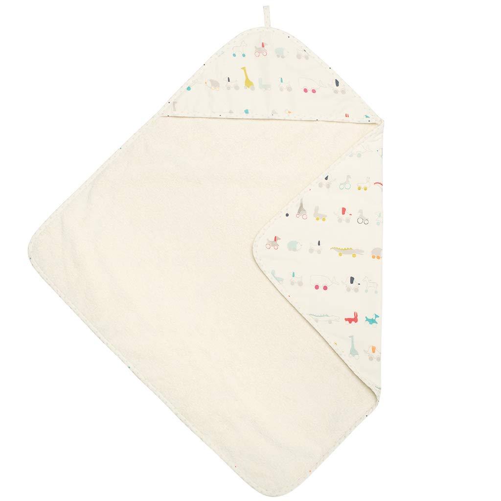 PEHR Pull Toys Hooded Towel, Multi