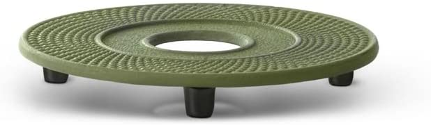 Bredemeijer Coaster Jing, Green, Cast Iron, 134x134x17mm